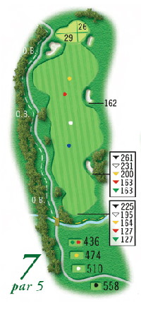 Hole 7 - Rolling Meadows